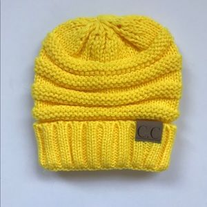 Other - New yellow kids beanie